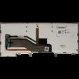 Eredeti Dell belső billentyűzet háttérvilágítással - Y3DYD