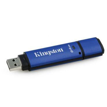 Kingston DataTraveler Vault Privacy 3.0(management ready) vizálló pendrive 64GB - DTVP30DM/64GB