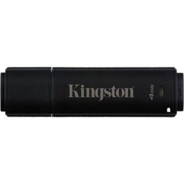 Kingston 4GB DT4000 G2 Secure Hardware Encryption (Management Ready) vízálló ütésálló USB3.0 pendrive fekete