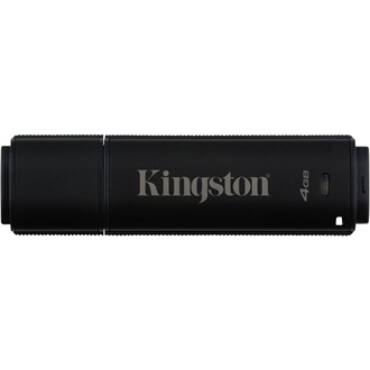 Kingston 16GB DT4000 G2 Secure Hardware Encryption (Management Ready) vízálló ütésálló USB3.0 pendrive fekete - DT4000G2DM/16GB