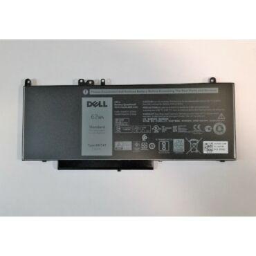 Eredeti gyári Dell 4 cellás laptop akkumulátor - 7V69Y - Dell Latitude E5570, E5450, E5470, , Precision 3510 tipusú laptopokhoz