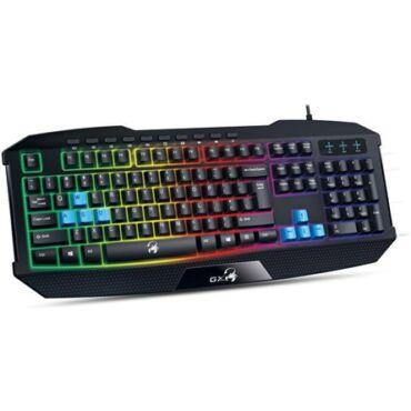 Genius Scorpion K215 USB magyar gamer billentyűzet fekete - 31310474102