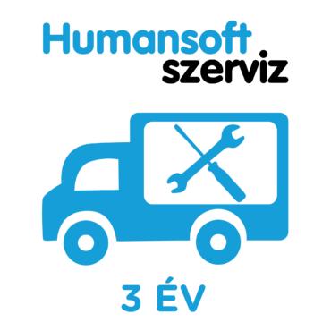 3 év Humansoft, futár garancia