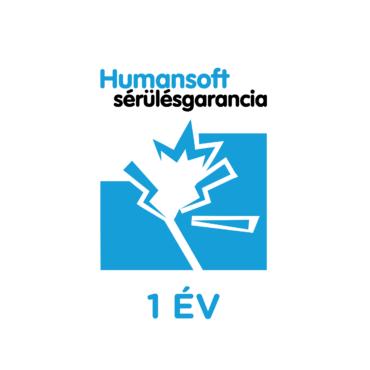 1 év Humansoft sérülés garancia, laptop tápegységre