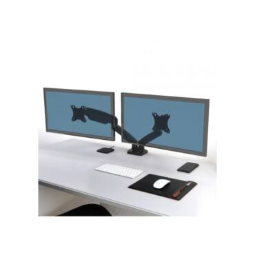 """Port Designs-Port Connect Asztali notebook állvány - dupla, 75x75/100x100, 32""""-ig, max 8 kg, forgatható, dönthető"""