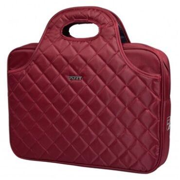 "PORT DESIGNS NŐI Notebook táska 150033, Toploading Laptop case 15,6"" (Carmin) -FIRENZE"