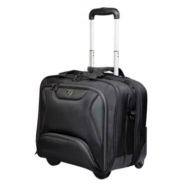 """Port Designs gurulós táska, Manhattan, 14""""-15,6"""" - fekete"""