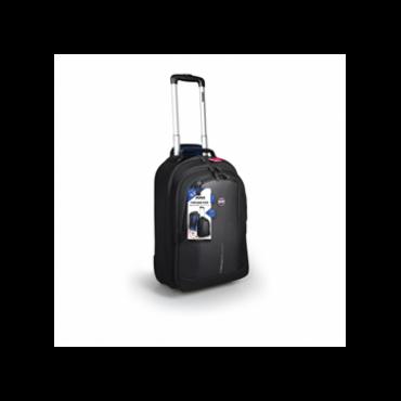 Port Designs Notebook hátizsák, Chicago Evo TROLLEY, lopásgátló 15.6'' - fekete