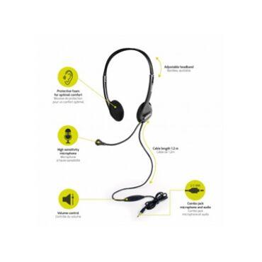 Port Designs Headset 3,5 mm combo jack