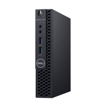 DELL PC Optiplex 3060 Micro, Intel Core i5-8500T (2.10GHz), 8GB, 1TB HDD, WLAN, Win 10 Pro 257916