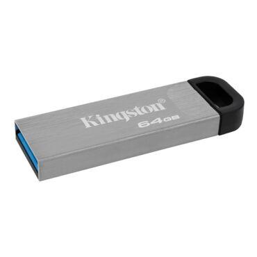 KINGSTON PENDRIVE 64GB, DT KYSON USB 3.2 GEN 1, FÉM (200 MB/S OLVASÁS)