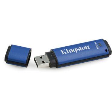 Kingston DataTraveler Vault Privacy 3.0(management ready) vizálló pendrive 16GB - DTVP30DM/16GB
