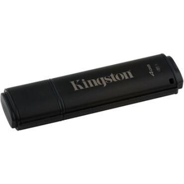 Kingston 8GB DT4000 G2 Secure Hardware Encryption (Management Ready) vízálló ütésálló USB3.0 pendrive fekete - DT4000G2DM/8GB