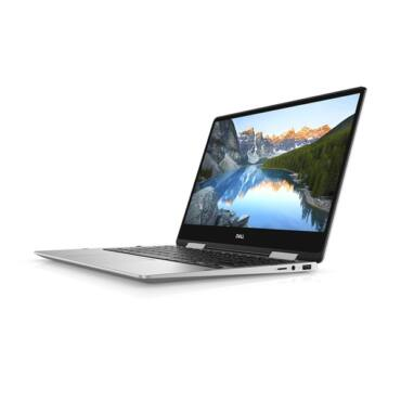 "Dell Inspiron 7386 2in1 13.3"" FHD Touch i5-8265U (3.9 GHz), 8GB, 256GB SSD, Intel HD, Win 10 szürke 257294"