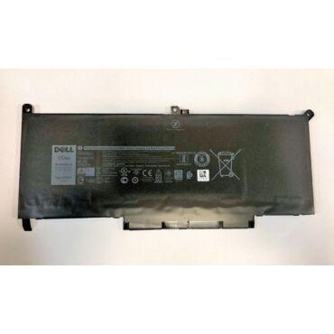 Eredeti gyári Dell 4 cellás laptop akkumulátor - MYJ96 - Dell Latitude 7280, 7290, 7390, 7480, 7490 tipusú laptopokhoz