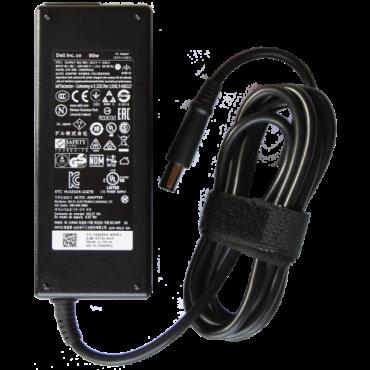 Eredeti gyári Dell 90W laptop AC adapter Inspiron, Latitude, Precision laptopokhoz 0W6KV