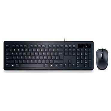 Genius SlimStar C130 USB magyar billentyűzet + egér fekete - 31330208105