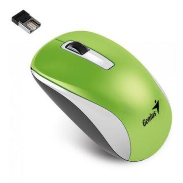 Genius NX-7010 Wireless Optika egér USB Zöld (1600DPI) BlueEye - 31030114108