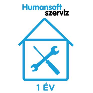 1 év Humansoft, helyszíni garancia