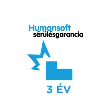 3 év Humansoft sérülés garancia, laptop tápegységre